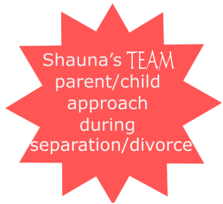 Shauna's TEAM parent/child approach during separation/divorce