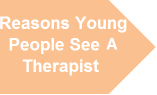 Reasons Young People See a Therapist?